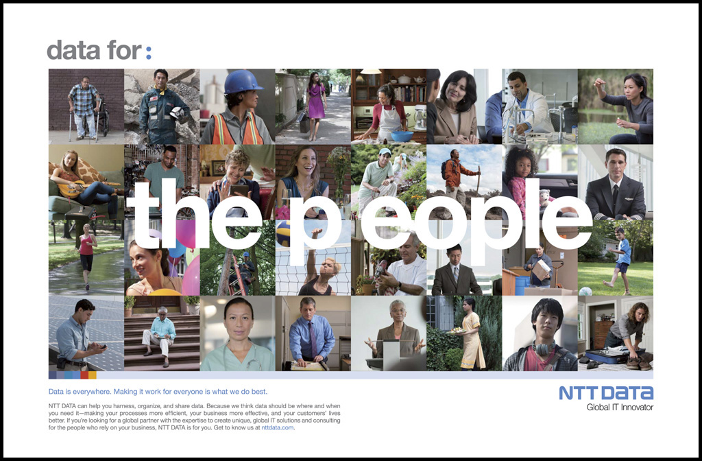 NTT Data Global Ad Campaign Project