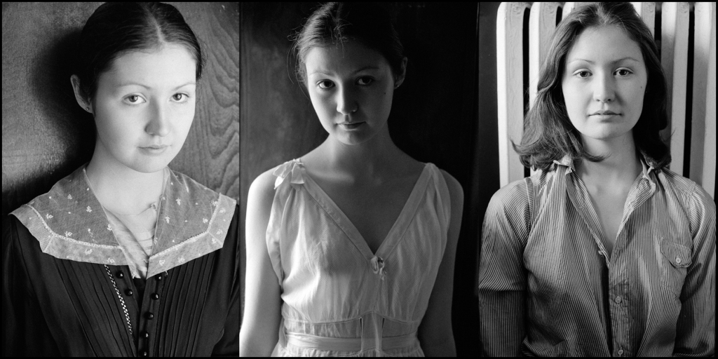 Molly in three moments - photographs by Sherrie Nickol