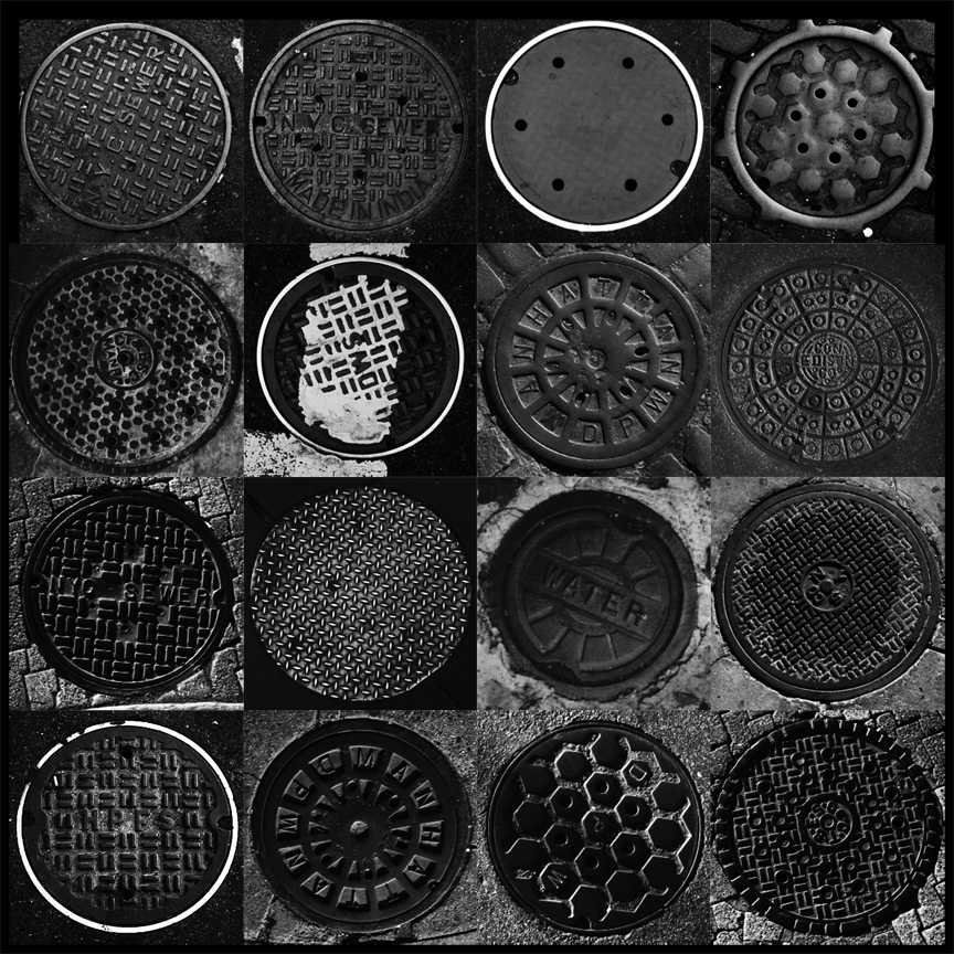 manhole-grid