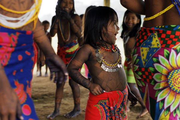 The Embera People: Panama