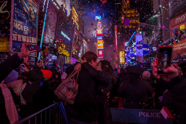 Times Square New Years Eve 2013