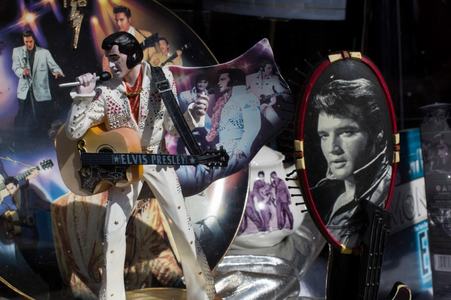 Elvis on BealeStreet